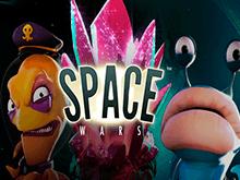 Игровой аппарат Космические Войны на сайте онлайн казино Вулкан
